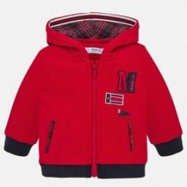 Kombinovaná sportovní košile pro chlapce Mayoral 2458-82 červená