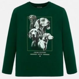 Sportovní košile pro chlapce Mayoral 7034-28 zelená