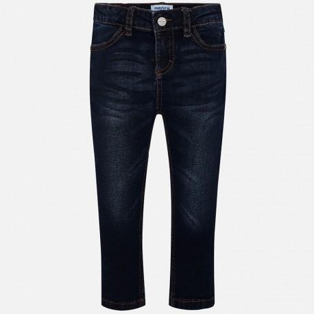Základní džíny trubkové kalhoty pro dívky Mayoral 70-57 granát