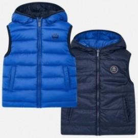 Oboustranná vesta pro chlapce Mayoral 4319-59 modrá