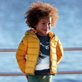 Přechodová prošívaná bunda pro chlapce Mayoral 4443-55 žlutá