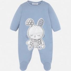 Bavlněné pyžamo pro dívky Mayoral 2709-31 modrá