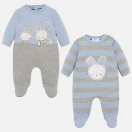 Sada 2 pyžam pro dívky Mayoral 2710-31 modrá