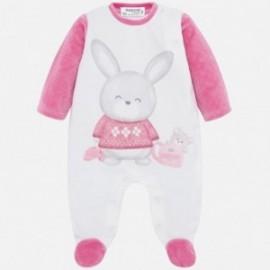 Velur pyžama pro dívky Mayoral 2725-83 růžová
