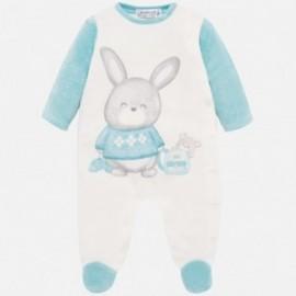 Pyžama velur pro chlapce Mayoral 2725-82 tyrkysová