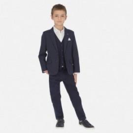 Kalhoty elegantní chlapci Mayoral 6518-69 granát