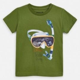 Tričko sportovní chlapec Mayoral 3070-67 zelená