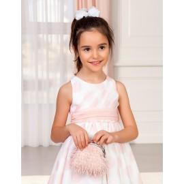 Elegantní taška se střapci pro dívku Abel & Lula 5436-70 růžová