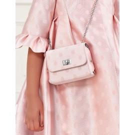 Elegantní lesklá kabelka pro dívku Abel & Lula 5437-75 růžová