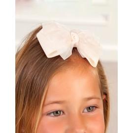 Klip na vlasy pro dívku Abel & Lula 5416-32 krém