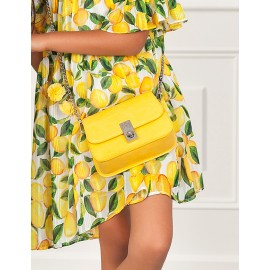 Elegantní kabelka pro dívky Abel & Lula 5439-83 žlutá