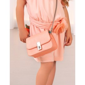 Elegantní kabelka pro dívky Abel & Lula 5439-84 broskev