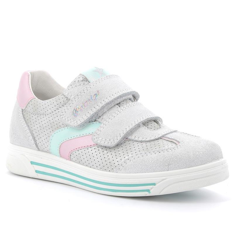 Tenisky pro dívky Primigi 5377011 stříbrná