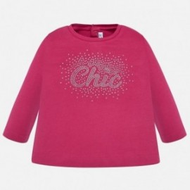 Tričko pro dívky Mayoral 116-51 Fuchsia