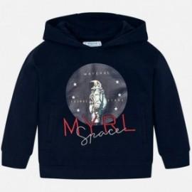 Mikina s kapucí kluci Mayoral 820-27 granát