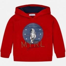 Mikina s kapucí chlapci Mayoral 820-26 červená