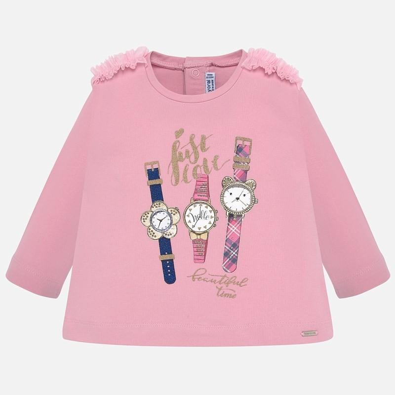 Tričko pro dívky Mayoral 2013-95 růžový