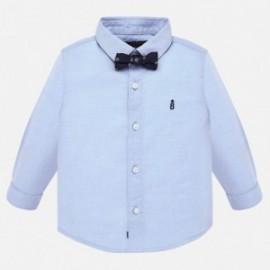 Košile s motýlkem pro chlapce Mayoral 2111-36 modrý