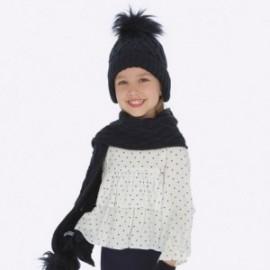 Dívčí halenka s puntíky Mayoral 4104-10 granát