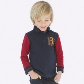 Polo tričko pro chlapce Mayoral 4111-27 šedá