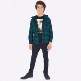 Kalhoty jogger chlapci Mayoral 7516-89 granát