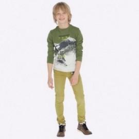 Kalhoty pro chlapce Mayoral 7517-69 olivový