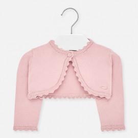 Bolero svetr pro dívku Mayoral 306-81 růžový