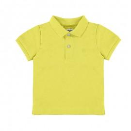 Koszulka polo k/r pika basic chłopiec Mayoral 102-60 Zółty