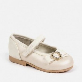 521/5000 Elegantní dívčí balerínky Mayoral 41148-79 Pearl