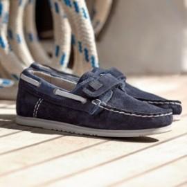 Kožené mokasíny kluci Mayoral 43195-78 námořnická modrá