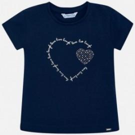 Sportovní košile Mayoral 174-96 pro dívky granát