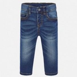 Klasické chlapecké základní džíny Mayoral 503-82 granát