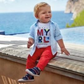 Elegantní kalhoty pro chlapce Mayoral 522-46 červená