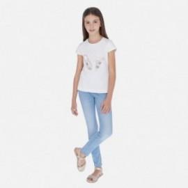 Základní džíny pro dívky Mayoral 554-83 modrá