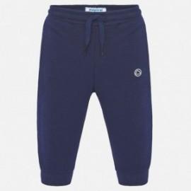 Dlouhé sportovní kalhoty pro chlapce Mayoral 711-95 granát
