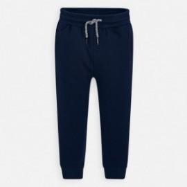 Dlouhé sportovní kalhoty pro chlapce Mayoral 742-27 granát