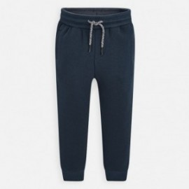 Dlouhé sportovní kalhoty pro chlapce Mayoral 742-24 šedá