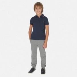 Dlouhé sportovní kalhoty pro chlapce Mayoral 744-33 šedá