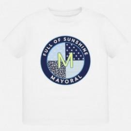 Sportovní košile pro chlapce Mayoral 1041-15 bílá