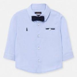 Elegantní košile s motýlkem pro chlapce Mayoral 1162-87 modrý