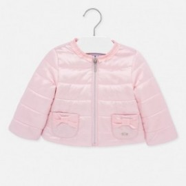 Větruvzdorná bunda Mayoral 1473-70 pro dívky růžový