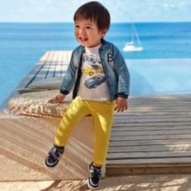Kalhoty s podvazky pro chlapce Mayoral 1547-67 Žlutá