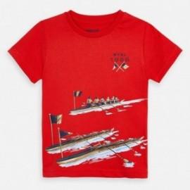 Sportovní košile pro chlapce Mayoral 3060-40 červená