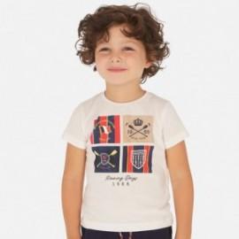 Sportovní košile pro chlapce Mayoral 3061-39 bílá