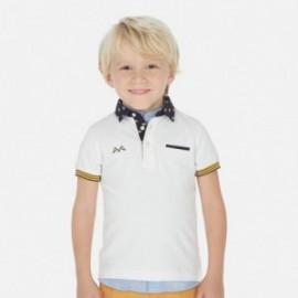Elegantní polokošile pro chlapce Mayoral 3145-52 bílá