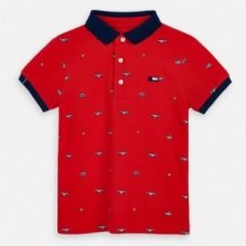 Polo tričko pro chlapce Mayoral 3147-36 červená