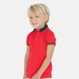 Polo tričko chlapci Mayoral 3150-15 červená