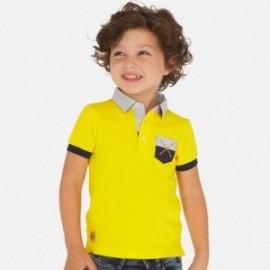 Polokošile s potiskem chlapec Mayoral 3156-76 žlutý