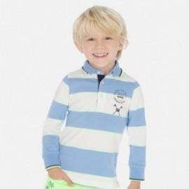 Pruhované polo tričko chlapec Mayoral 3159-41 modrý
