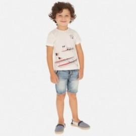 Bermudy džíny s pásem pro chlapce Mayoral 3260-78 Jeans